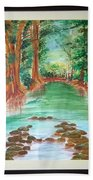 Beauty Of Nature Bath Towel