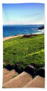 Beauty Of The Pacific Grove Shoreline Two Bath Towel