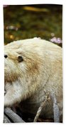 Beaver Bath Towel