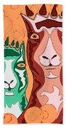 Bedazzled Llamas Hand Towel