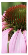 Bee On Echinacea Bath Towel