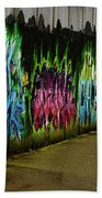 Belfast - Painted Wall - Ireland Bath Towel