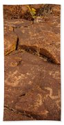 Belfast Petroglyph 6 Bath Towel