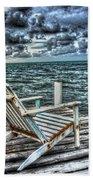Belize Beach Chair #2 Bath Towel