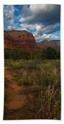 Courthouse Butte Sedona Arizona Bath Towel