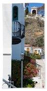 Santa Catalina Island Bell Tower Bath Towel