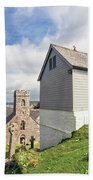 Bell Tower St Mylor Cornwall Bath Towel