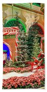 Bellagio Christmas Train Decorations Angled 2017 2 To 1 Aspect Ratio Bath Towel