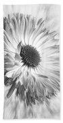 Bellis In Mono  #flower #flowers Bath Towel
