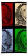 Ben Franklin In Colors Bath Towel