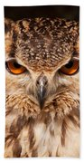 Bengal Owl Bath Towel