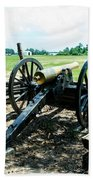 Bentonville Nc Confederate Artillery Bath Towel