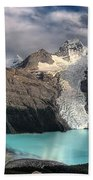 Berg Lake, Mount Robson Provincial Park Bath Towel