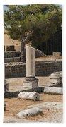 Bergama Asklepion Ruins Bath Towel