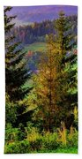 Beskidy Mountains Hand Towel