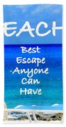 Best Escape Bath Towel by Patti Whitten