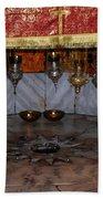 Bethlehem - Nativity Church - Silver Star Bath Towel