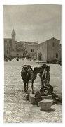 Bethlehem: Street, C1911 Hand Towel