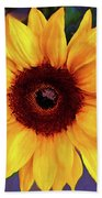 Betsy's Sunflower Bath Towel