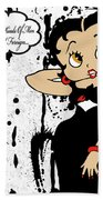 Betty Boop Bath Towel