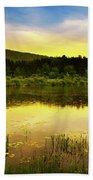 Beyond Sunset Landscape Bath Towel