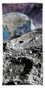 Beyond The Moon Hand Towel