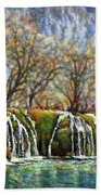 Beyond The Snowy Mountains Hand Towel