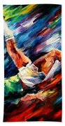 Bicycle Kick Bath Towel