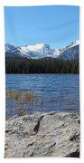 Bierstadt Lake In Rocky Mountain National Park Bath Towel