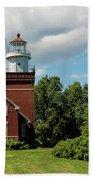Big Bay Point Lighthouse Bath Towel