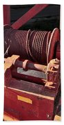 Big Red Winch Bath Towel
