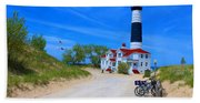 Big Sable Point Lighthouse Bath Towel