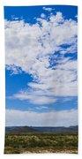 Big Sky In Pecos Valley Bath Towel