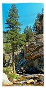 Big Thompson Canyon Pre Flood Moment 2 Bath Towel