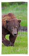 Big Ugly Grizzly Boar Claws Bath Towel
