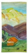 Big Valley Hand Towel by Steve Jorde