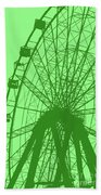 Big Wheel Green Bath Towel