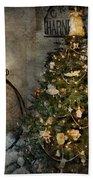 Bike - I Wanna Bike For Christmas  Bath Towel