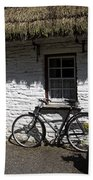 Bike At The Window County Clare Ireland Hand Towel