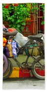 Bike Repair Shop On Wheels Bath Towel