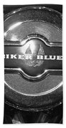 Biker Blues Bath Towel