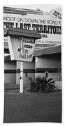 Billboard The Last Territory Tucson Arizona 1987 Bath Towel