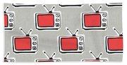 Binge Watching- Art By Linda Woods Bath Towel