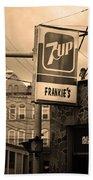 Binghampton New York - Frankie's Tavern Bath Towel