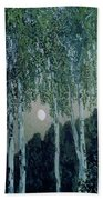Birch Trees Bath Towel