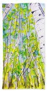 In The Forest  Hand Towel