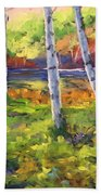 Birches 01 Bath Towel