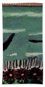 Bird Flock Bath Towel