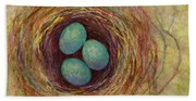 Bird Nest Hand Towel