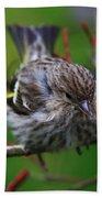 Bird Perch Bath Towel